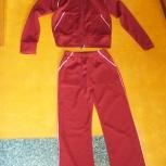 Продам спортивный костюм на девочку.цвет вишня, Нижний Новгород