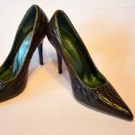Туфли Torrini лакированные коричневые 37 размер, Нижний Новгород