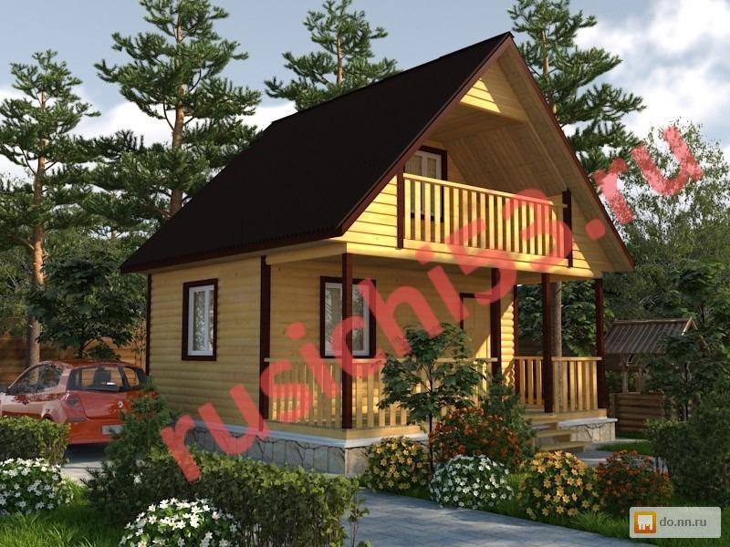 Строим брусовые дома и бани! цена - 390000.00 руб., нижний н.