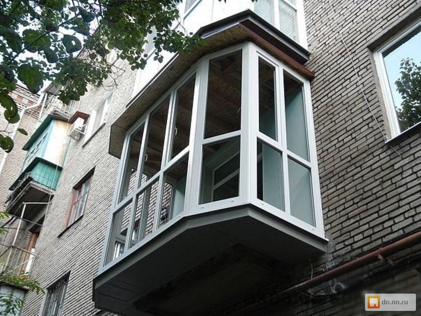 Балконы, лоджии . цена - 10000.00 руб., нижний новгород - нн.