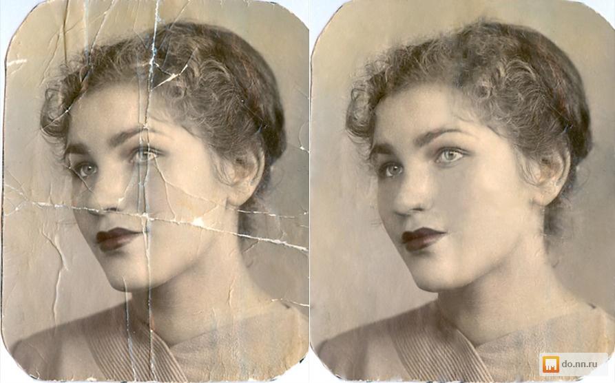 старые фотографии обработка и хранение тех данных, которые