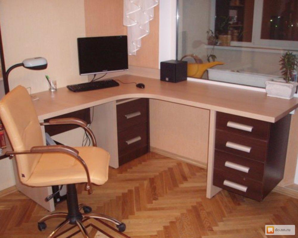 Компьютерный стол угловой купить на заказ в минске - фото.
