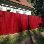 Забор из профнастила, Нижний Новгород