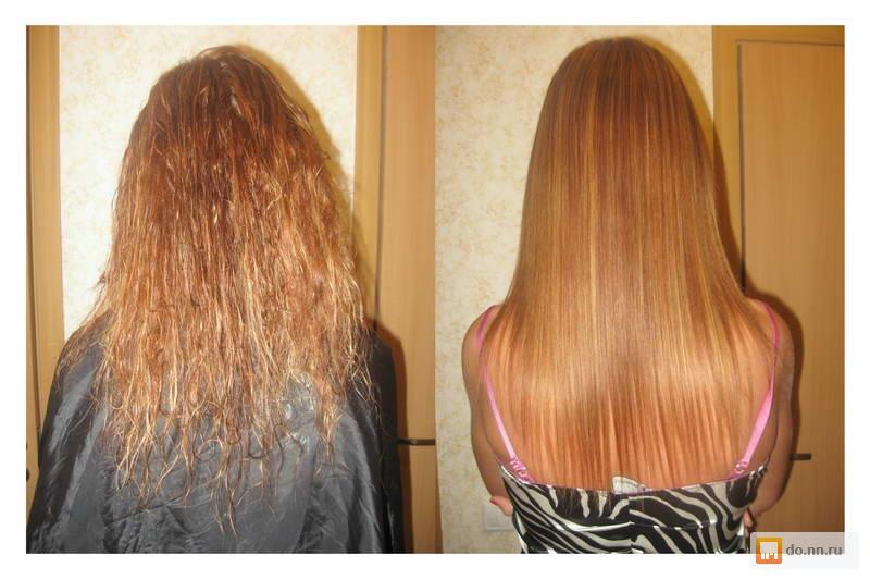 Новое выпрямление волос