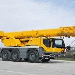 Аренда автокрана LIEBHERR LTM-1050 50 тонн 56 метров, Нижний Новгород