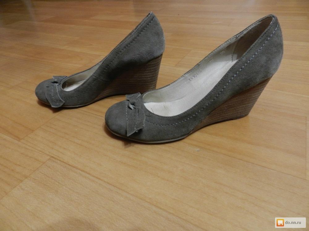 туфли на скале замшевые данной