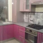 Кухни на заказ. Розовая кухня, Нижний Новгород