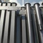 Столбы металлические для забора оптом и в розницу с доставкой, Нижний Новгород