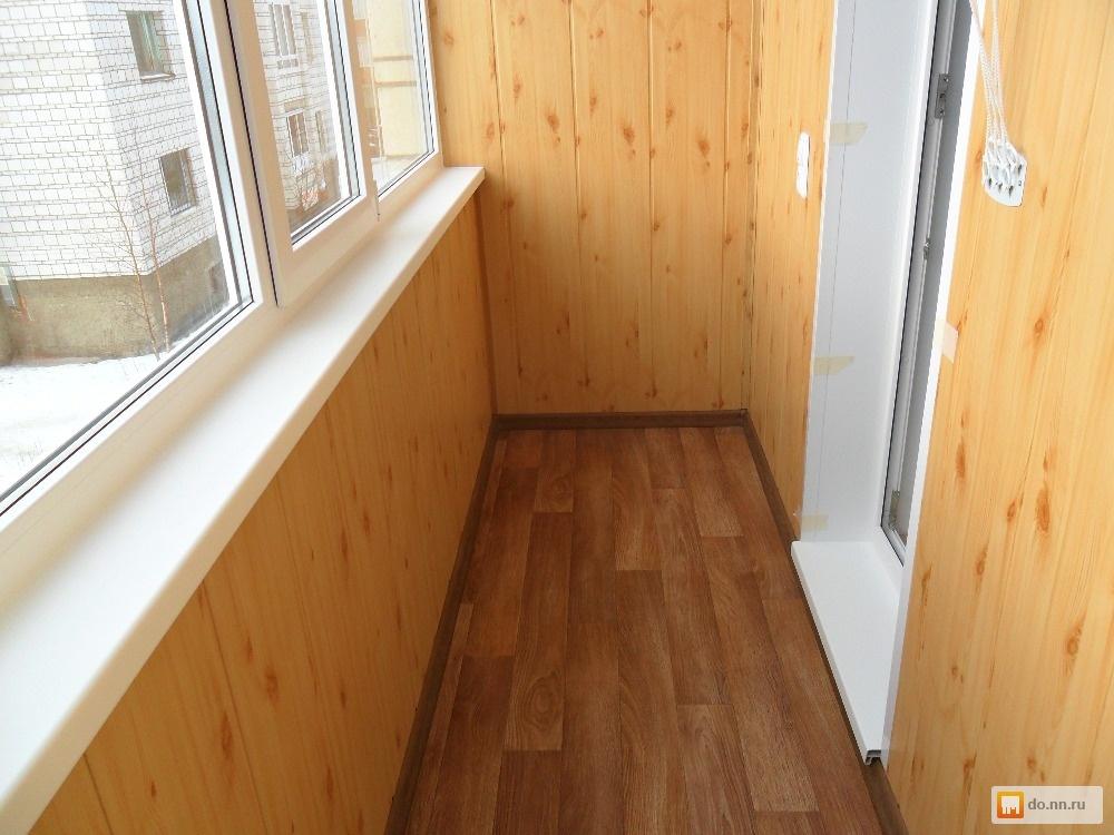Качественная отделка балконов и лоджий . цена - 100.00 руб.,.
