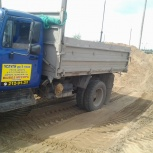 Песок, щебень, ОПГС, гравий, чернозем и тд. от 1 тонны, Нижний Новгород