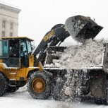 Чистка снега, Нижний Новгород