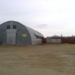 Тёплый ангар 540м2 с кран-балкой + террит-я, Нижний Новгород