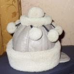 Продам детскую зимнюю шапку на девочку 5-8 лет, Нижний Новгород