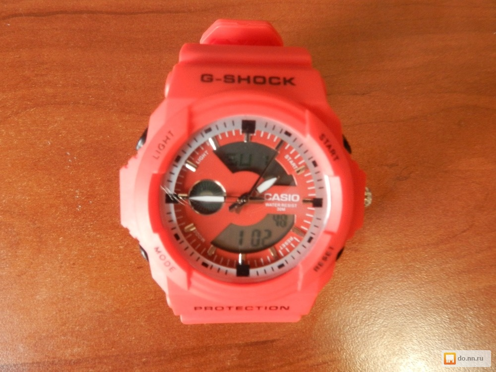 Часы g shock protection фото